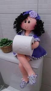 Resultado de imagen para muñecas porta papel higienico