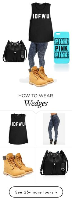 """Untitled #252"" by miss-imperfect on Polyvore featuring Timberland and MICHAEL Michael Kors"
