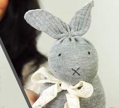 Sock Bunny for Easter