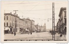 RP; Washington Street East, IOWA CITY, Iowa, PU-1911