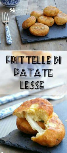 Frittelle di patate lesse con mozzarella filante http://blog.giallozafferano.it/mille1ricette/frittelle-di-patate-lesse-con-mozzarella/