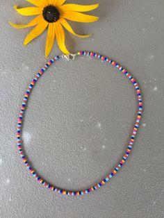Seed Bead Jewelry, Bead Jewellery, Cute Jewelry, Beaded Jewelry, Beaded Bracelets, Bracelet Crafts, Jewelry Crafts, Pulseras Kandi, Handmade Wire Jewelry