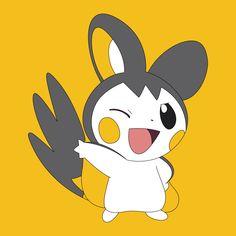 Emolga Cute pokemon :p