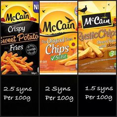 Arent these surprisingly low in syns? Well done McCains! #lowsyn #slimmingworld #slimmingworldsurvival #diet