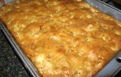 Cake Mix Apple Pie Cake Recipe - Genius Kitchen This recipe uses a CAKE MIX! It is so simple and taste GREAT!This recipe was found in 101 Things to Do with a Cake Mix. Apple Pie Cake, Apple Cake Recipes, Apple Desserts, Apple Pies, Apple Cobbler Recipe With Cake Mix, Cake Mix And Pie Filling Recipe, Apple Dump Cake With Pie Filling, Easy Desserts, Cake Boss Recipes