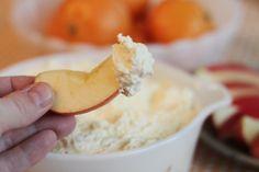 Delicious Orangesicle Fruit Dip