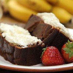 Grain Free Banana Bread Zucchini Bread Recipes, Banana Bread Recipes, Muffin Recipes, Moist Banana Bread, Baking Muffins, Gluten Free Flour, Dessert Recipes, Desserts, Dessert Bread