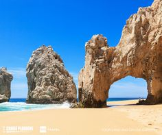 You don't have to go far to see one of nature's beautiful sea arches. Available only by boat, El Arco (The Arch) of Cabo San Lucas, Mexico is where the Sea of Cortez meets the Pacific Ocean. Visit for a chance to snap an awesome photo, spot sea lions on the rocks, and admire the sea life below. #memorycurator #wintourviptravel