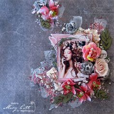 Mary's Crafty Moments: ''Enjoy...'' - DT Layout for Maja Design April Ins...