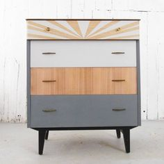 Are you interested in our Mid Century chest of drawers? With our Retro painted drawers you need look no further.