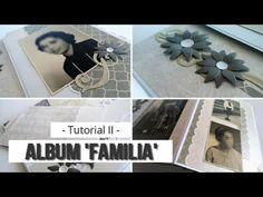 "MINI ALBUM ""FAMILIA"" PARA PRINCIPIANTES - TUTORIAL (PARTE 2- PRIMERAS PA... Scrapbook Sketches, Nova, Mini Books, Scrapbooks, Mini Albums, Videos, Instagram, Tags, Youtube"