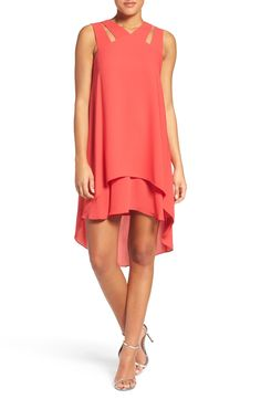 Bcbgmaxazria cutout trapeze dress available at fa Cute Dresses, Casual Dresses, Fashion Dresses, Girls Dresses, Summer Dresses, Dresses For Pregnant Women, Clothes For Women, Ankara Gown Styles, Light Dress