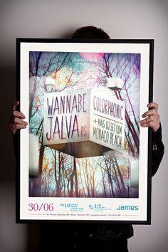 My poster. #curitiba #design #poster