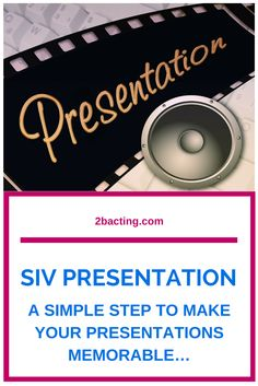 SIV Presentations. Get a quote today