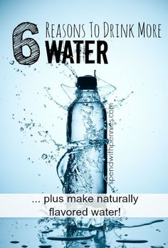 6 Reasons You Should Be Drinking More Water!