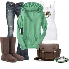outfit uggs ♥ fall outfit