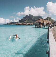 "73.5k Likes, 482 Comments - LAUREN BULLEN (@gypsea_lust) on Instagram: ""Morning cardio in the South Pacific @fsborabora"""