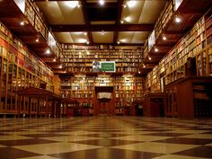 Peralada Castle Library, Costa Brava, Spain - The library's extensive collection includes some 200 first editions, 800 conferrals of nobility, 1001 editions of Don Quixote (in 33 languages) and documents dating from the 9th century.