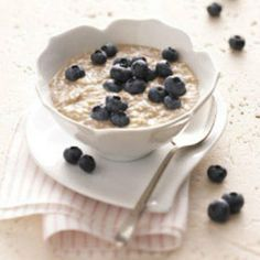 Orange - Blueberry Oatmeal  sunrise