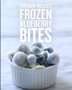 Healthy, delicious and easy to make, this triple-threat frozen blueberry recipe is sure to become a go-to favorite healthy snack.