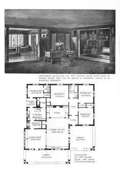 Victorian House Plans, 1920s House, Vintage House Plans, Vintage Homes, Small House Floor Plans, Best House Plans, Modern House Plans, Sims Building, Building A House