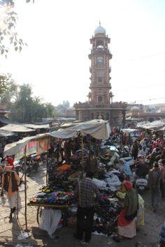 Jodhpur, India: Clock Tower