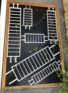 #กระดานสำหรับแขวนสินค้าเครื่องใช้ติดผนัง #HardBoard  #Pegboard #Hooks #Shelf #เพ็คบอร์ด Outdoor Structures