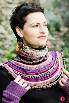 Artystyczna biżuteria tkaninowa - Biżuteria - DecoBazaar