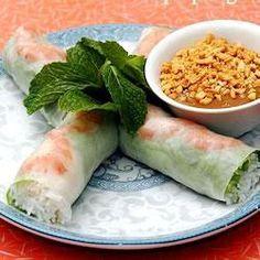 Vietnamese Rice Paper Rolls @ allrecipes.asia