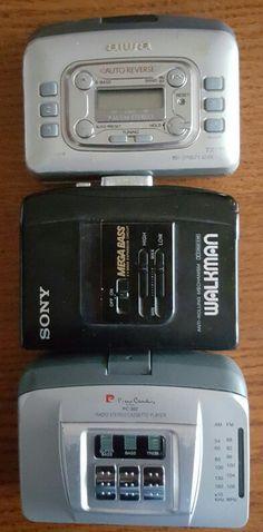 Walkmany na kasety magnetofonowe - wspomnienie PRL-U :)