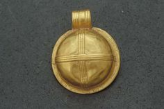 Gold pendant from the Viking age