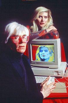 Presentazione Amiga 1000_1985_Andy Warhol_Debbie Harry