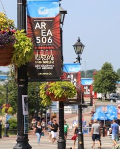 from @area506fest  It's a beautiful day in port city Saint John and Area 506 is ready for all you festival goers!!