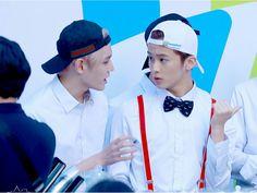 Mark and Taeyong
