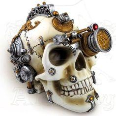 #Steampunk #skull #caveira #coisasdecaveira #caveirismo