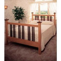 Woodworker's Journal Padauk Bed Frame Plan | Rockler Woodworking and Hardware