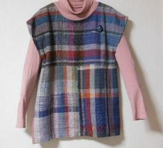 Garments to show off hand-woven fabric with a minimum of cutting and sewing.