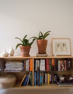 low shelves