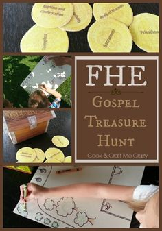 Cook And Craft Me Crazy Fhe Gospel Treasure Hunt