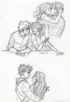 remember when i was obsessed with Harry and Ginny oh right i still am