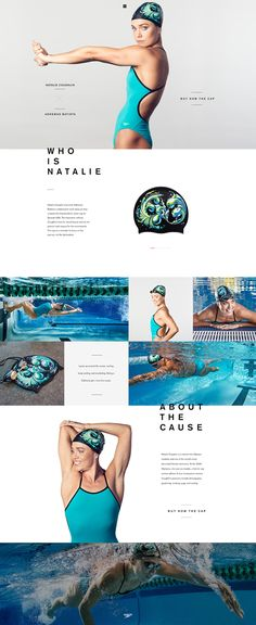 "Speedo ""the art of the cap"" by André do Amaral"
