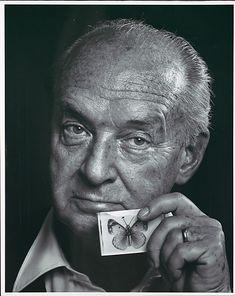 Vladimir Nabokov, 1972 - by Yousuf Karsh