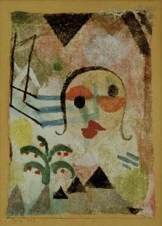 Paul Klee - Bildnis einer Rothaarigen, 1917.112.
