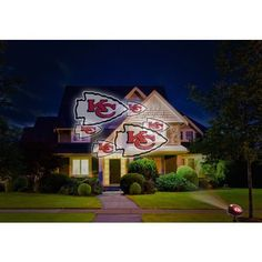 Kansas City Chiefs Projection Projector Light