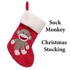 Sock Monkey Ornament for 2013 Christmas, Gray Sock Monkey Ornament ...