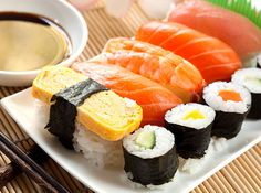 Ardbeg Scotch with sushi | 12 Whiskey And Food Pairings You Need To Know About