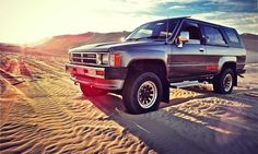 Super cool Japanese-import Toyota Hilux Surf for sale - Autoweek Toyota 4x4, Toyota Trucks, Toyota Cars, 4x4 Trucks, Toyota 4runner, 1st Gen 4runner, Japanese Imports, Unique Cars, Car Photography