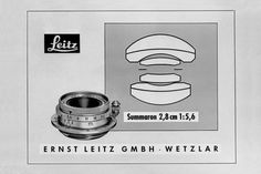 Above, Original LEICA SUMMARON-M 28 mm f/5.6 in 1955. LEICA SUMMARON-M 28 mm f/5.6 Ultra-Compact, Wide-Angle Lens for the Leica M-System: Ideal for Street Photography http://www.photoxels.com/leica-summaron-m-28-mm-f5point6/