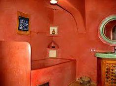 salle de bain tadelakt rouge - Recherche Google   Tadelakt Plaster ...