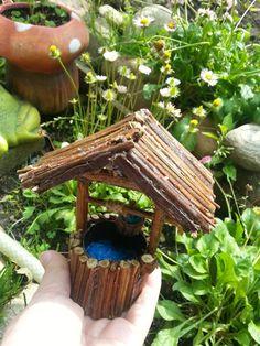 Fairy Garden Wishing Well Fairy garden well by DreamsTreasuress